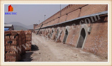 Profesional diseno de fabrica de ladrillo automatic perforated brick making machine