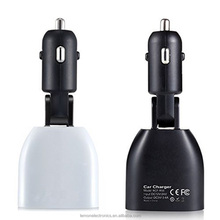 Quick Charge 3.0 Dual USB Car Phone Charger with Car Voltage Monitor LED Display
