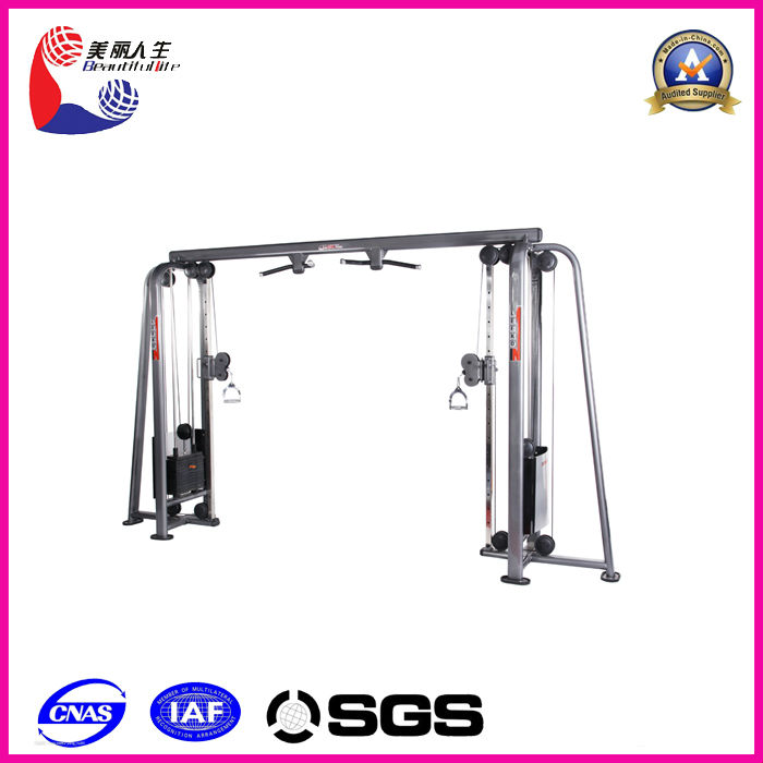 adjustable cable crossover/hot gym fitness equipment/plate loaded commercial gym equipment