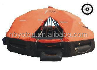 SOLAS Davit-launched inflatable life raft 20 Person