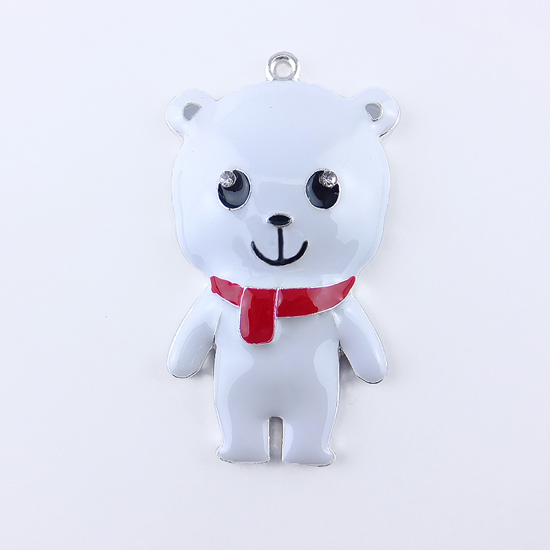 Enamel Cartoon Pendant <strong>Charm</strong> for children decoration