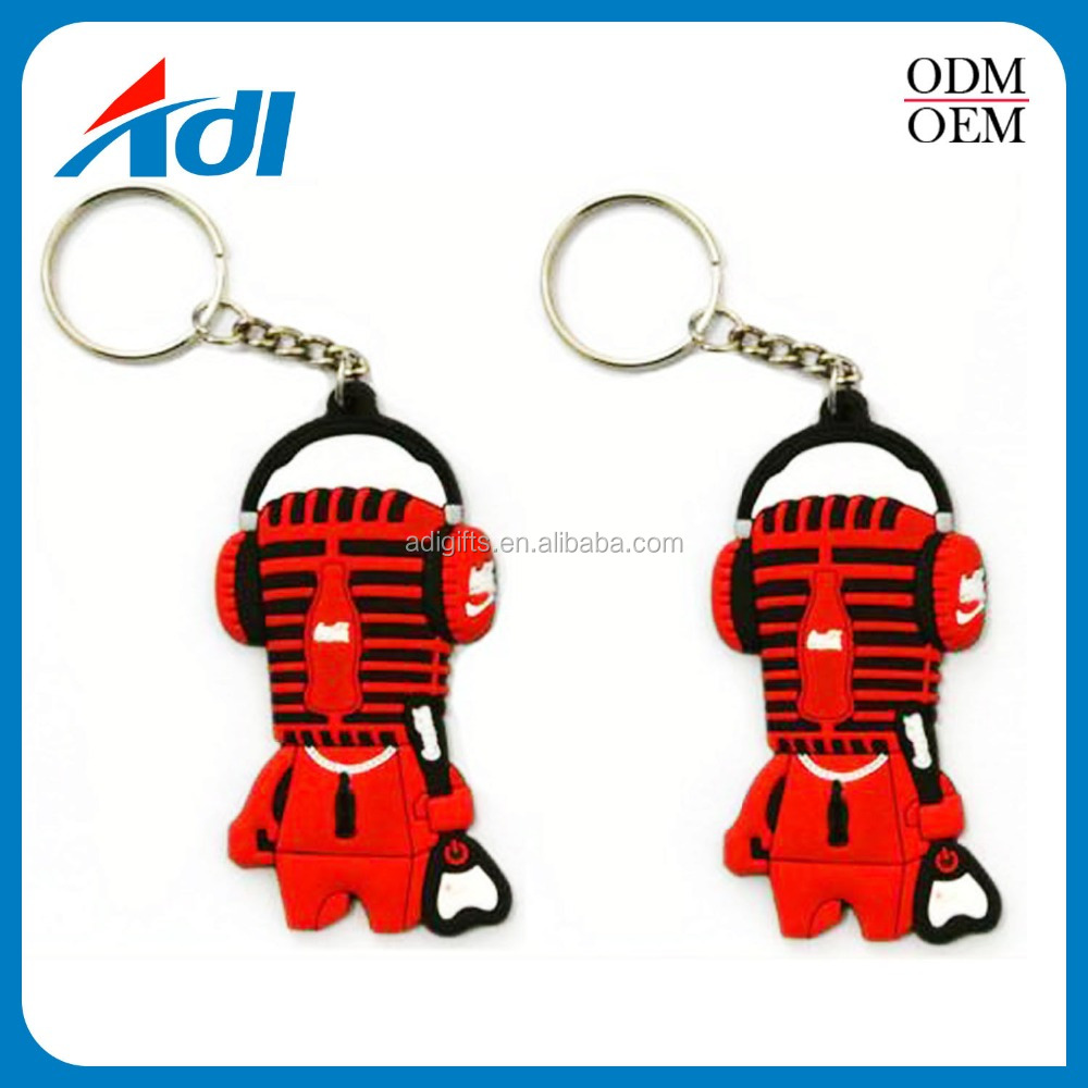 wholesale 3d custom shaped promotion gift couple plastic pvc keyring for girls