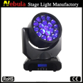 19*12W RGBW 4in 1 Led Zoom Wash Moving Head Lighting for dj