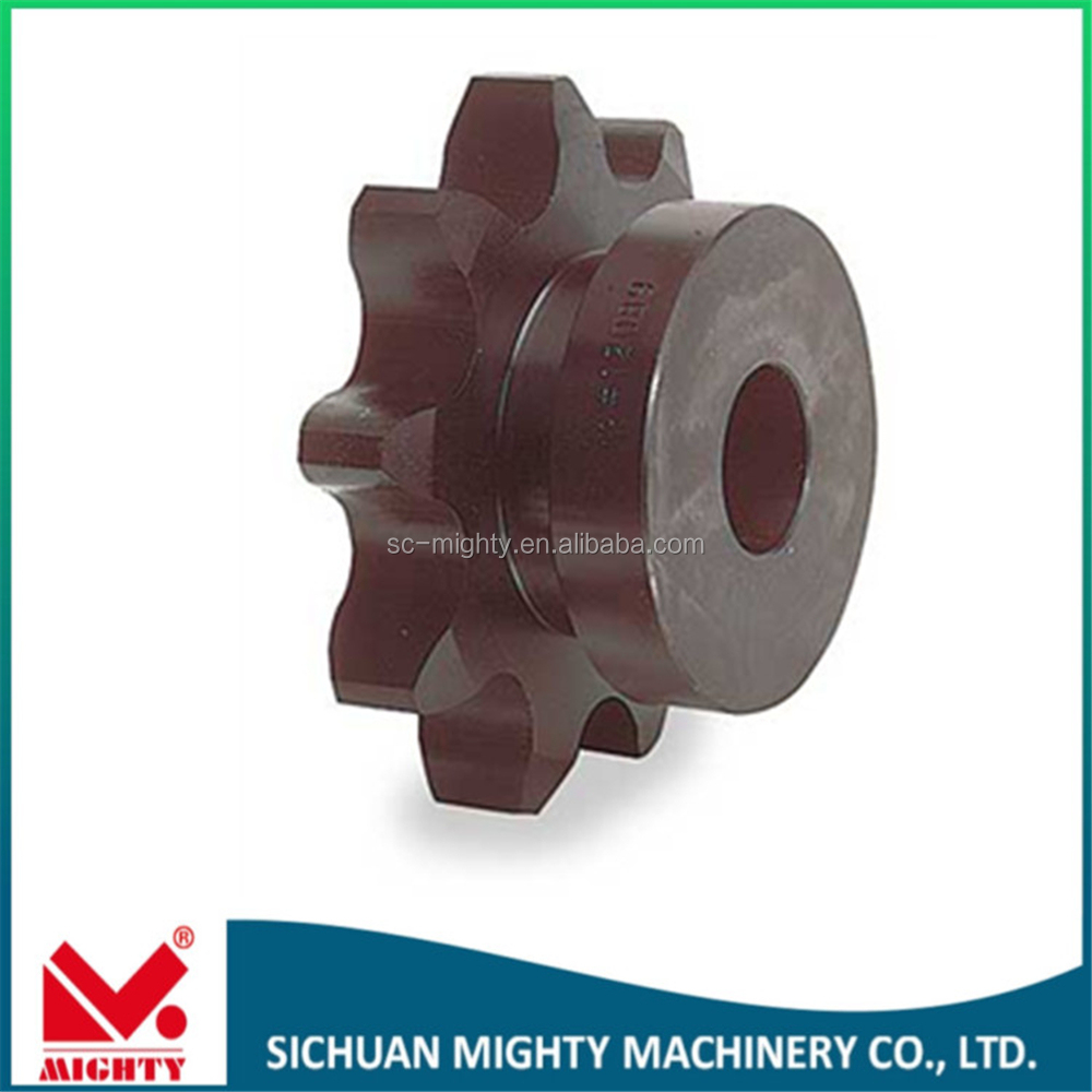 High quality double row sprocket gear high quality stainles steel transmission roller chain sprocket