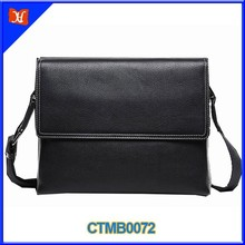 High Quality Leather Leisure Business Men Small Cheap Briefcase