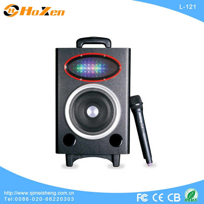 Supply all kinds of jsl speaker,portable speaker with trolley and wheels