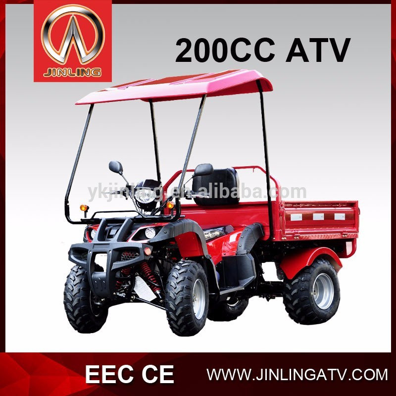 Jinling 150cc 200cc CE/EEC FARM ATV 2015 new model Quad with cargo