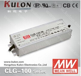 Mean WelL durable outdoor lighting led driver UL CE certificate CLG-100-2 4 24V 100W 3 years warranty over