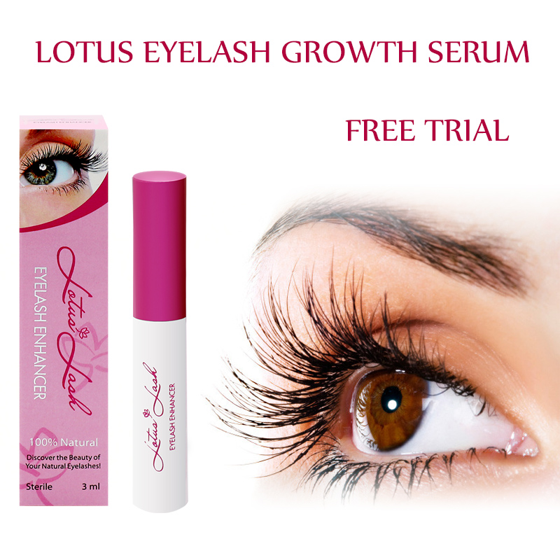 Natural Eyelash Growth Serum 3ml Private Label Lashes Extension Liquid
