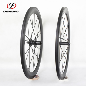 High quality!! 700c cycling wheelset 55mm full carbon bike wheel tubular carbon wheels light china wheel rims