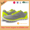 Non Slip fly air mesh and print outsole walking sport shoes made in china