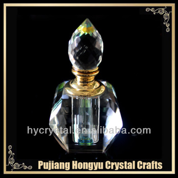 3ml shaped glass perfume bottle