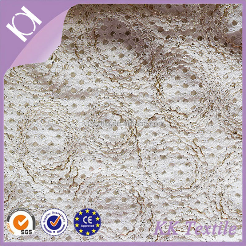 NO.630 Colours coast cord lint square <strong>hole</strong> fashion lace with square twisted rope sequin sequins embroidery ladies clothes <strong>fabric</strong>