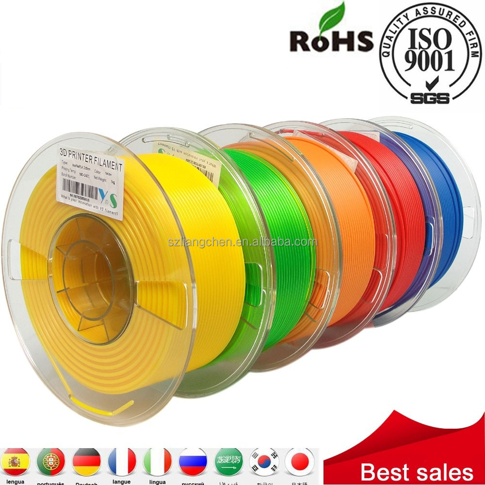 1.75mm 3mm ABS PLA 3d Printer Filament Supplier 1KG 5KG for 3d printing 3