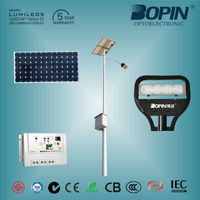 mini solar panel for led light, 65W Solar LED street lights BOPIN