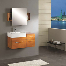 Single Basin Wall Hung Commercial Bathroom Vanity