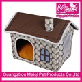 Village Style pet house dog house bed foam pet house