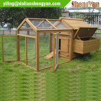 Wood large cheap chicken coop
