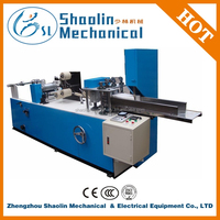 Easy Operation eight/six folder embossing/printing napkin machine