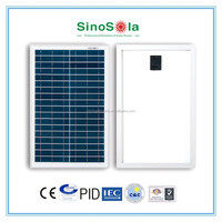 Small solar panel 20w for solar light portable solar lighting system from Sinosola with high efficiency solar cell A grade TUV