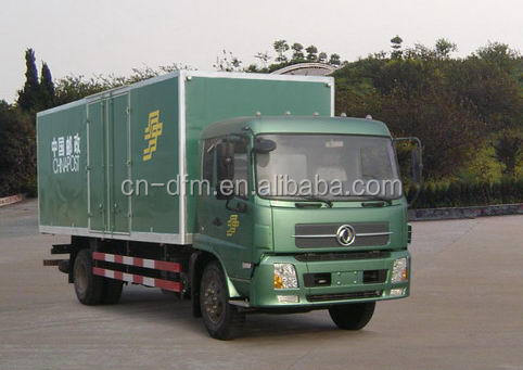 Axle 4x2 goods transportation delivery wing body van Cargo Truck