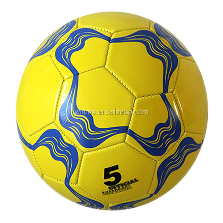 wholesale football size 5 pvc leather cheap soccer balls in bulk