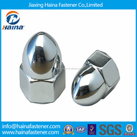 M16 Stainless Steel Domed Head Hex Flange Cap Nut