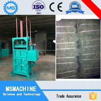 vertical packing machine used clothes hydraulic baler