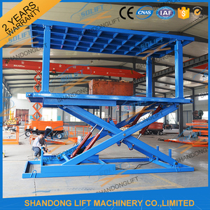 China Outdoor Garage Car Cheap Residential Lift Elevators Platform