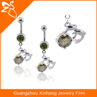 Indian style dangle ring Wholesale custom body jewelry