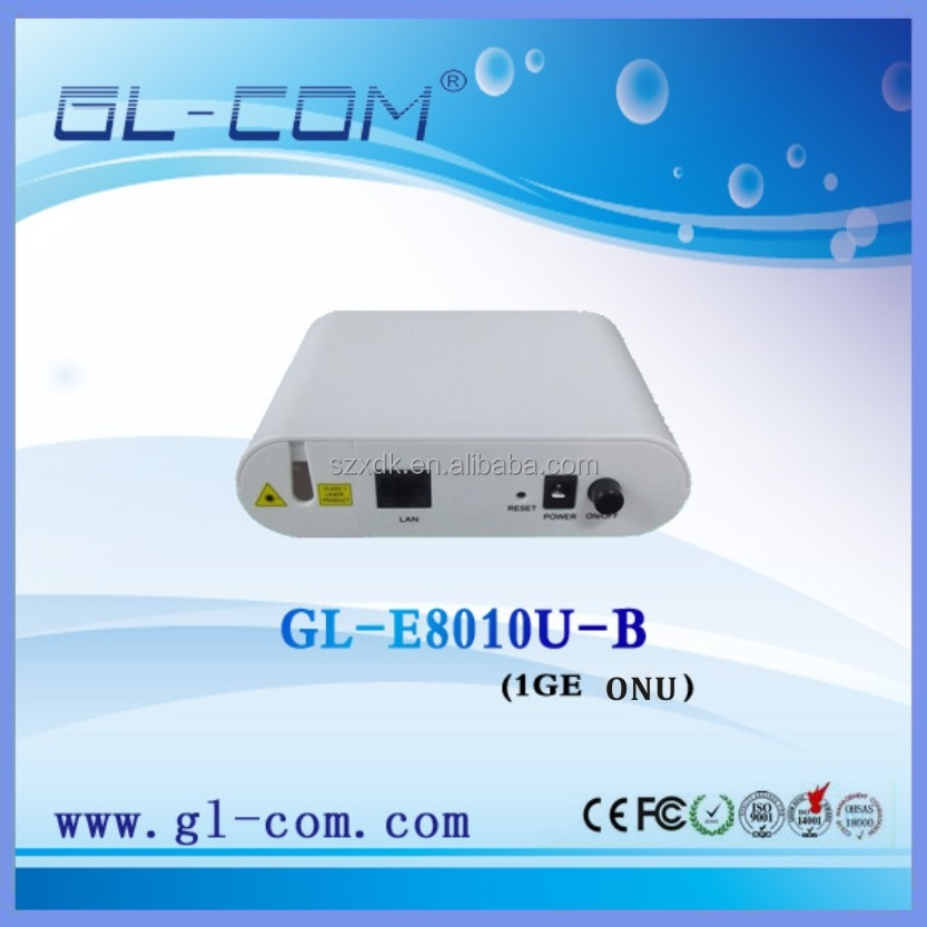 1GE ONU GEPON TK/CORTINA MTK CHIPSET Comply with Huawei ZTE OLT
