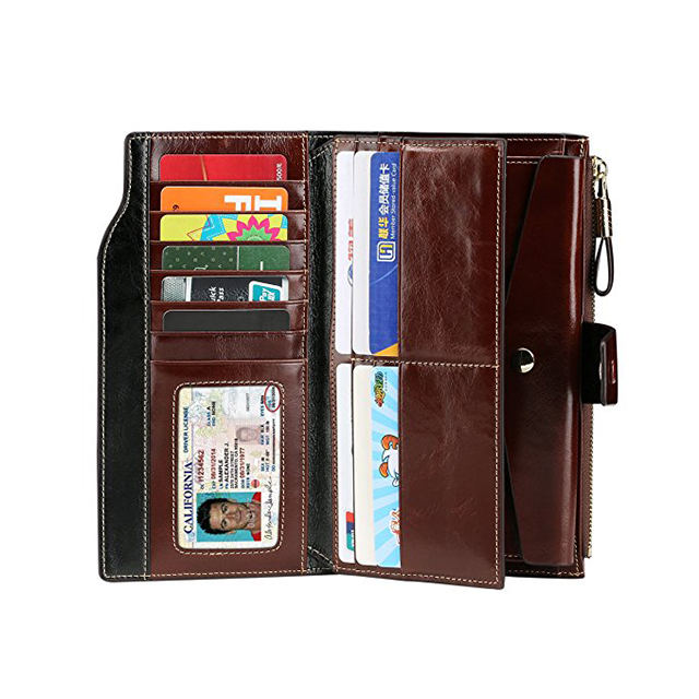 KID hot custom gift manufacturer style PU leather lady woman wallet