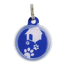 Promotion waterproof pendant necklace Metal dog tag/ID pet tag