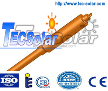 Glass vacuum tube heat pipe for solar water heater