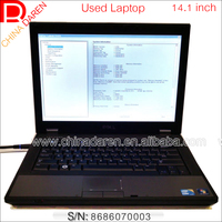 Wholesale Ready stock Second hand laptop 14 inch LCD Dual core 2G RAM 160G 320G used notebook with DVD wifi