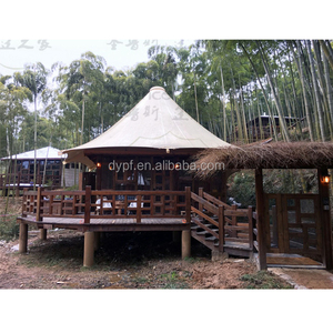 Water Proof Luxury Safari Tent Hotel Tent for Permanent Accommodation