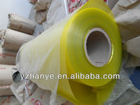Clear colour PVC thin plastic soft roll film/sheet