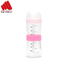 OEM Food Grade Silicone Water Drinking Bottle Private Label Bottle Band