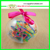Clear Acrylic Ball Favor Box