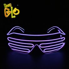 China Factory Shutter EL Wire Diffraction Glasses For Party