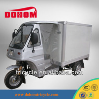 Hot Top Popular Gasoline 2014 Chinese Cheap 150CC Water Cool Cargo Trike Truck