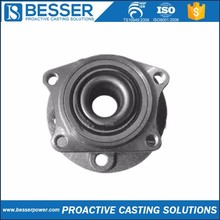 X12CrNi188 stainless steel Q235 cast iron dc hub motor 20CrMo cast iron casting lost wax motorcycle rear hub with disc brake