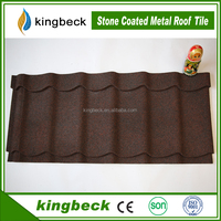 Baikal Colorful stone coated metal roof tile heat insulation roofing shingle