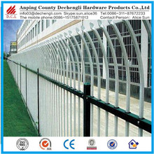 wrought iron fence/pvc coated ornamental wrought iron fence