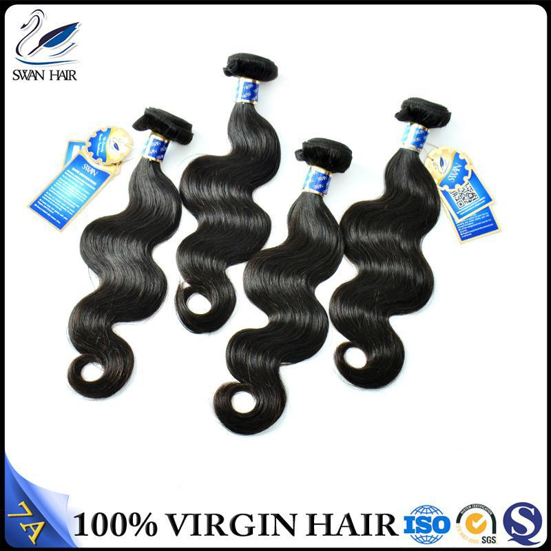 golden supplier Brazilian red color indian remy human hair weaving