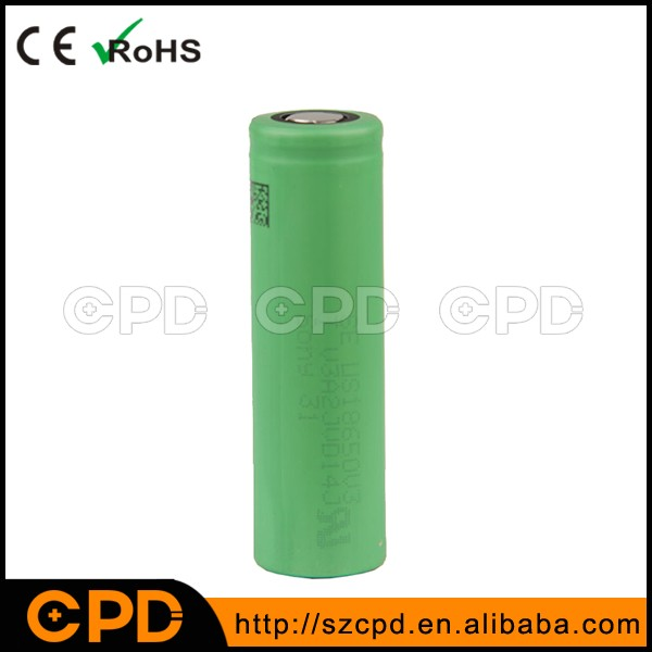 US18650V3 for Sony 2250mAh Li-ion Battery 10A Discharge Rechargeable Li-ion V3 Battery