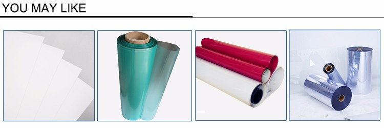Eco-friendly Flexible Plastic Soft PET Roll