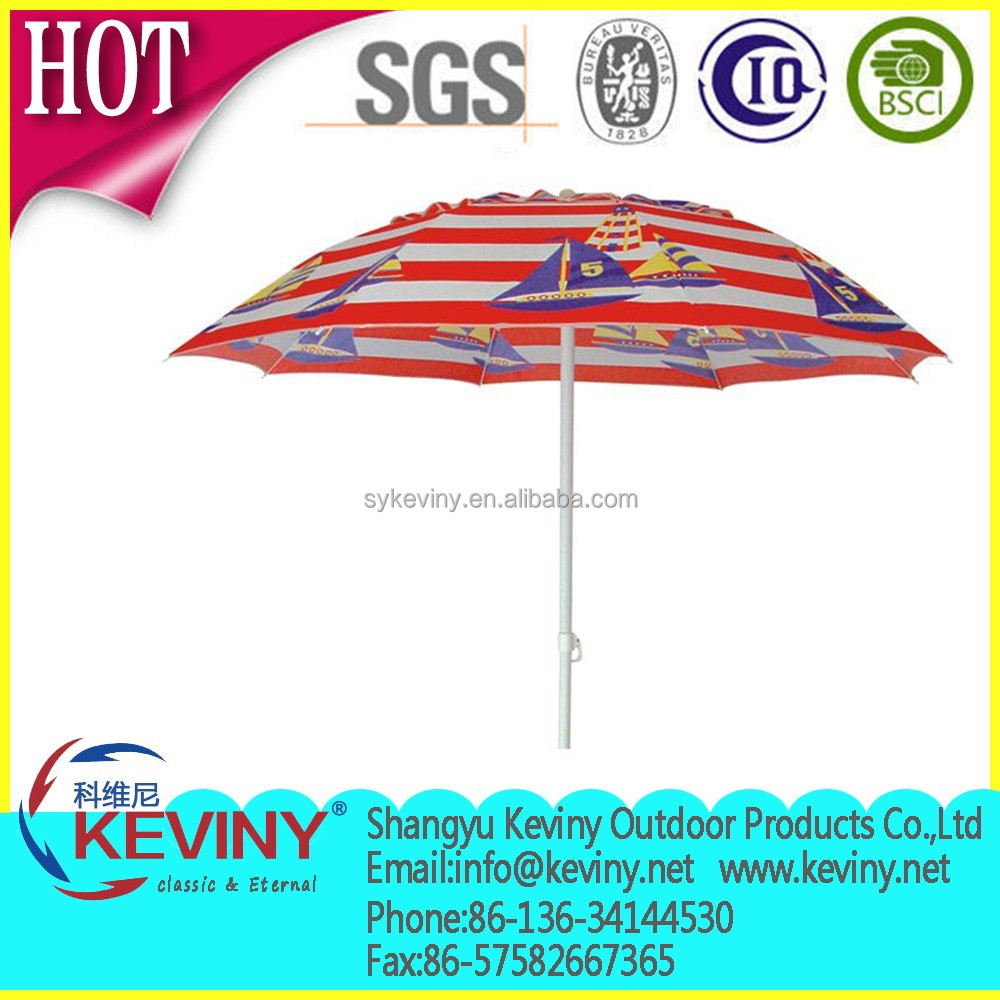 economic beach umbrella from china manufatcurer promotional outdoor umbrella beach