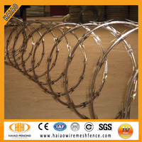 Crossed Razor Barbed Wire with Zinc Coating