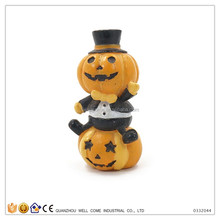 Funny Gifts Man Suit Artificial Craft Pumpkins for Sale